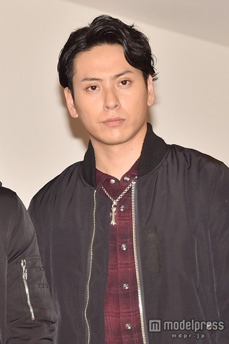 山下健二郎/写真はリハーサル初日会見時