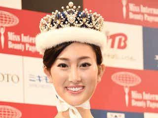 「2017 ミス・インターナショナル日本代表」決定、体重7キロ&体脂肪率9%減で美ボディ輝く