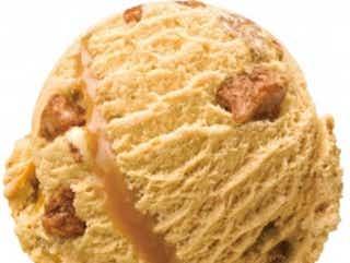 サーティワン、塩キャラメルにサクサクアーモンドをIN!甘じょっぱさが絶妙な新作アイス