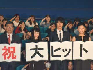 岡田准一、榮倉奈々との恋愛シーンは「ハードルが高い」と大テレ
