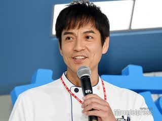 沢村一樹、長男とテレビ初共演 「イケメン」と話題に