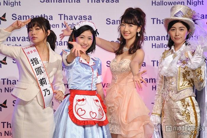 (左から)指原莉乃・渡辺麻友・柏木由紀・松井珠理奈