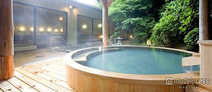 富士屋ホテル/女性専用の檜風呂でゆったり癒やしの時間