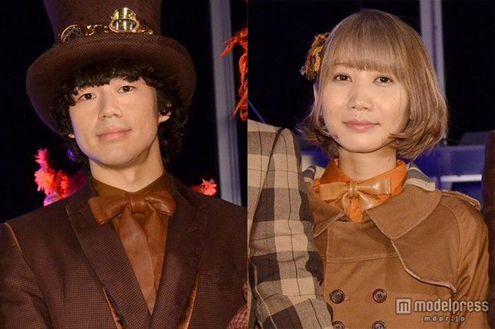 SEKAI NO OWARI、Saori(右)とNakajin(C)モデルプレス