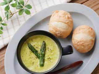「とうもろこしとアスパラのポタージュ」レシピ【365日のパンとスープ】