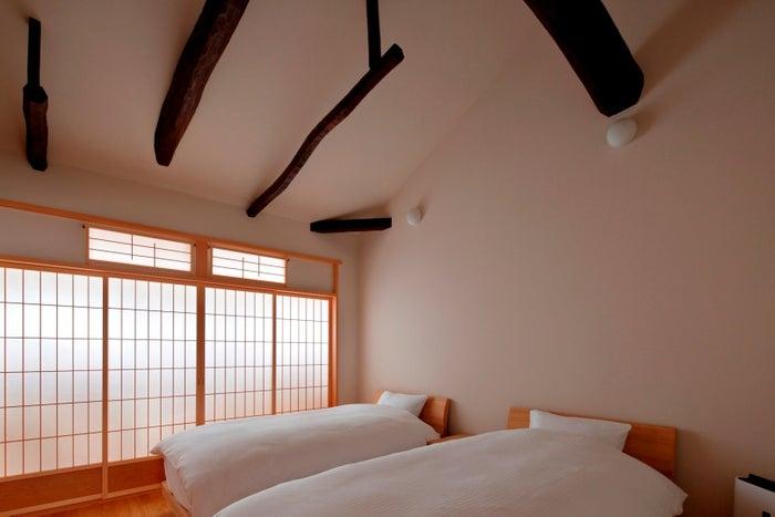 上質なマットレスや寝具を備えたベッドルーム/画像提供:ワコール