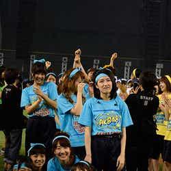 最下位はチームBに/「第1回AKB48グループ対抗 大運動会」(C)AKS