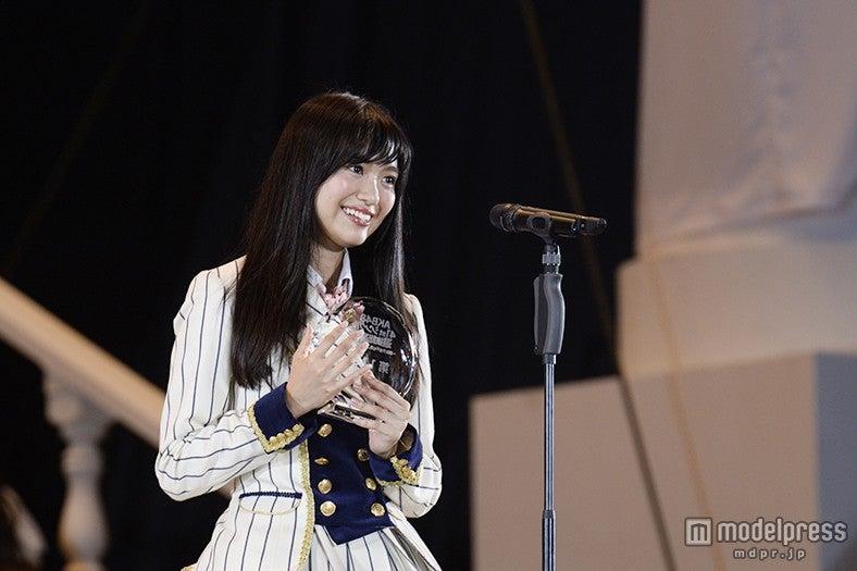北原里英、3年ぶり選抜&過去最高順位に「幸せすぎます」<第7回AKB48選抜総選挙>(C)AKS【モデルプレス】