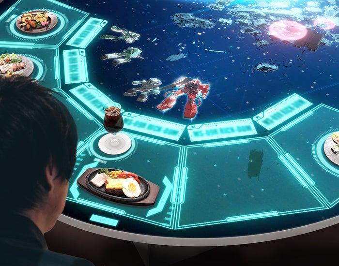 戦闘シミュレーション/画像提供:BANDAI SPIRITS
