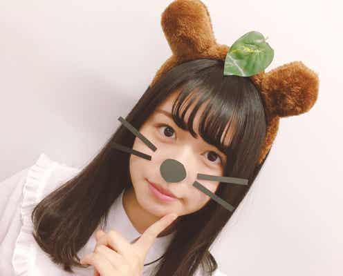 """欅坂46長濱ねるの""""アプリ加工なし""""写真、異色の手法が逆に新しい"""