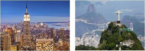 ニューヨーク、ブラジル/画像提供:AAE Japan