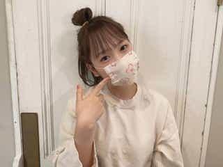 川栄李奈、自宅で桜柄マスク手作り 「完成度高すぎ」と注目集まる