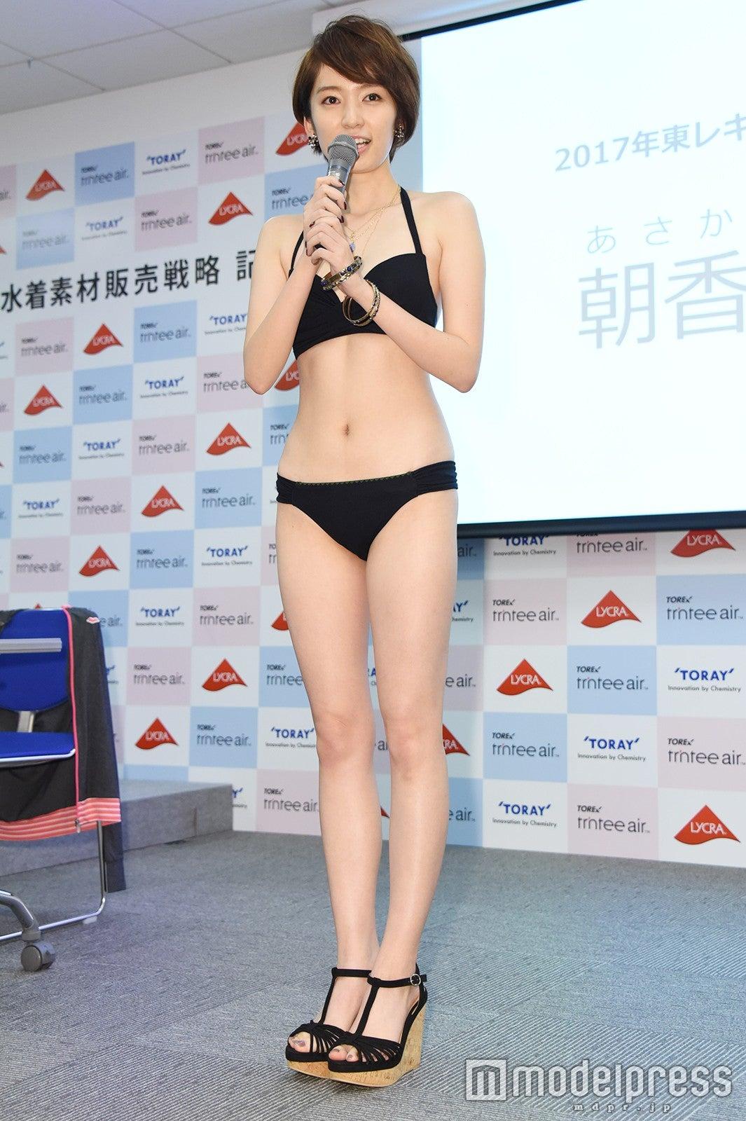 歴代最年長スレンダー美女 東レキャンペーンガール決定 ビキニ姿お披露目で感無量の涙 モデルプレス