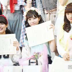 ピチレモンを卒業した(左から)森高愛、長崎すみれ、山口乃々華【モデルプレス】