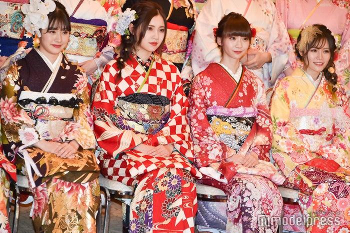 加藤美南、北川綾巴、荻野由佳、込山榛香/AKB48グループ成人式記念撮影会 (C)モデルプレス