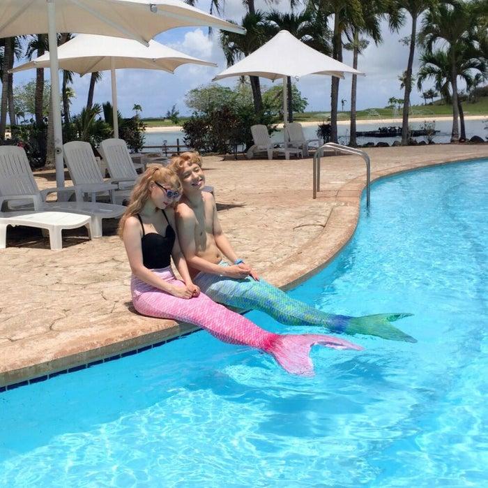 ぺこ&りゅうちぇるで話題の「マーメイドテール」も インスタ映えするビーチグッズに人気集中