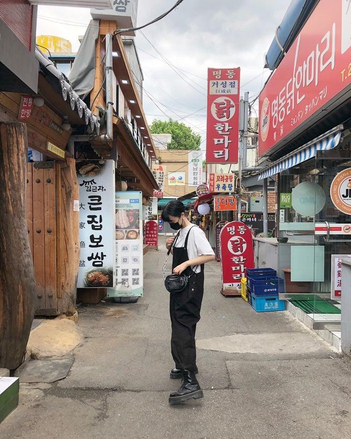 街に佇むだけでインスタ映え/高井香子さん(提供画像)