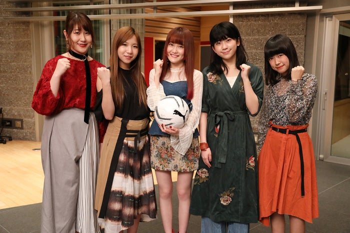 Little Glee Monster(左から)かれん、MAYU、芹奈、manaka、アサヒ(C)日本テレビ