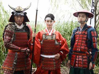 遠藤憲一、菅田将暉、本仮屋ユイカ「まさか民王で甲冑を着るとは…」