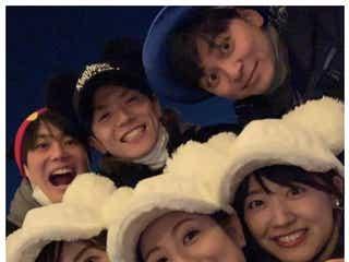水卜麻美・青木源太ら日テレアナウンサーがプライベートディズニー「仲良すぎ」「楽しそう」と反響