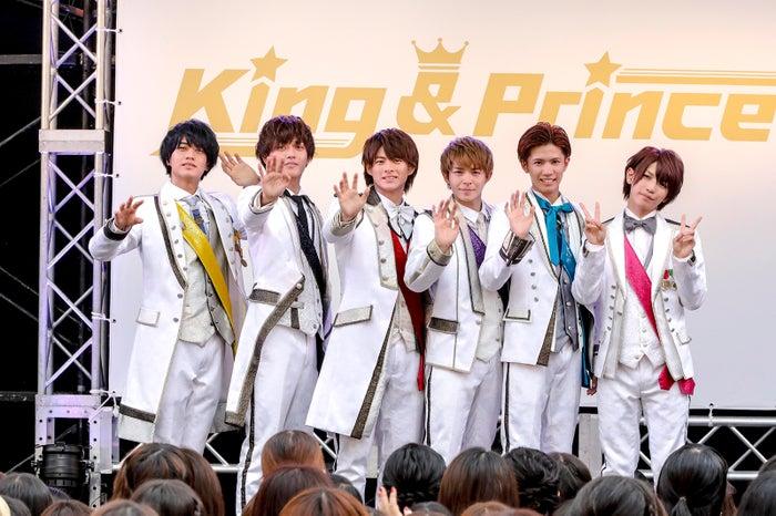 デビューイベントを開催したKing & Prince(画像提供:ユニバーサル ミュージック)