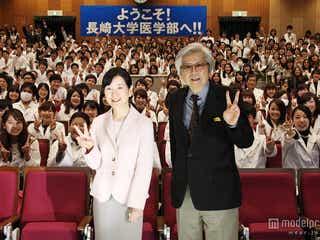 嵐・二宮和也のサプライズ登場に医大生450人が興奮 共演者&監督が絶賛