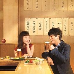 中村ゆり&浅香航大、W主演で異色のグルメ&恋愛ドラマに挑戦<今夜はコの字で>