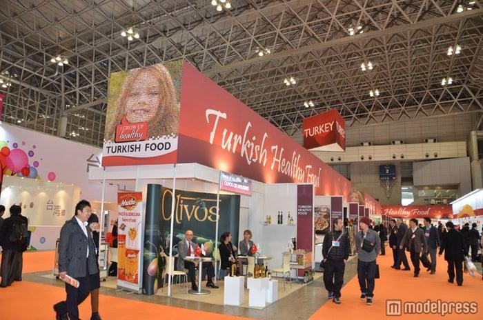 「FOODEX JAPAN 2012」トルコブース/幕張メッセ1~8HALLを使用して世界75か国が出展