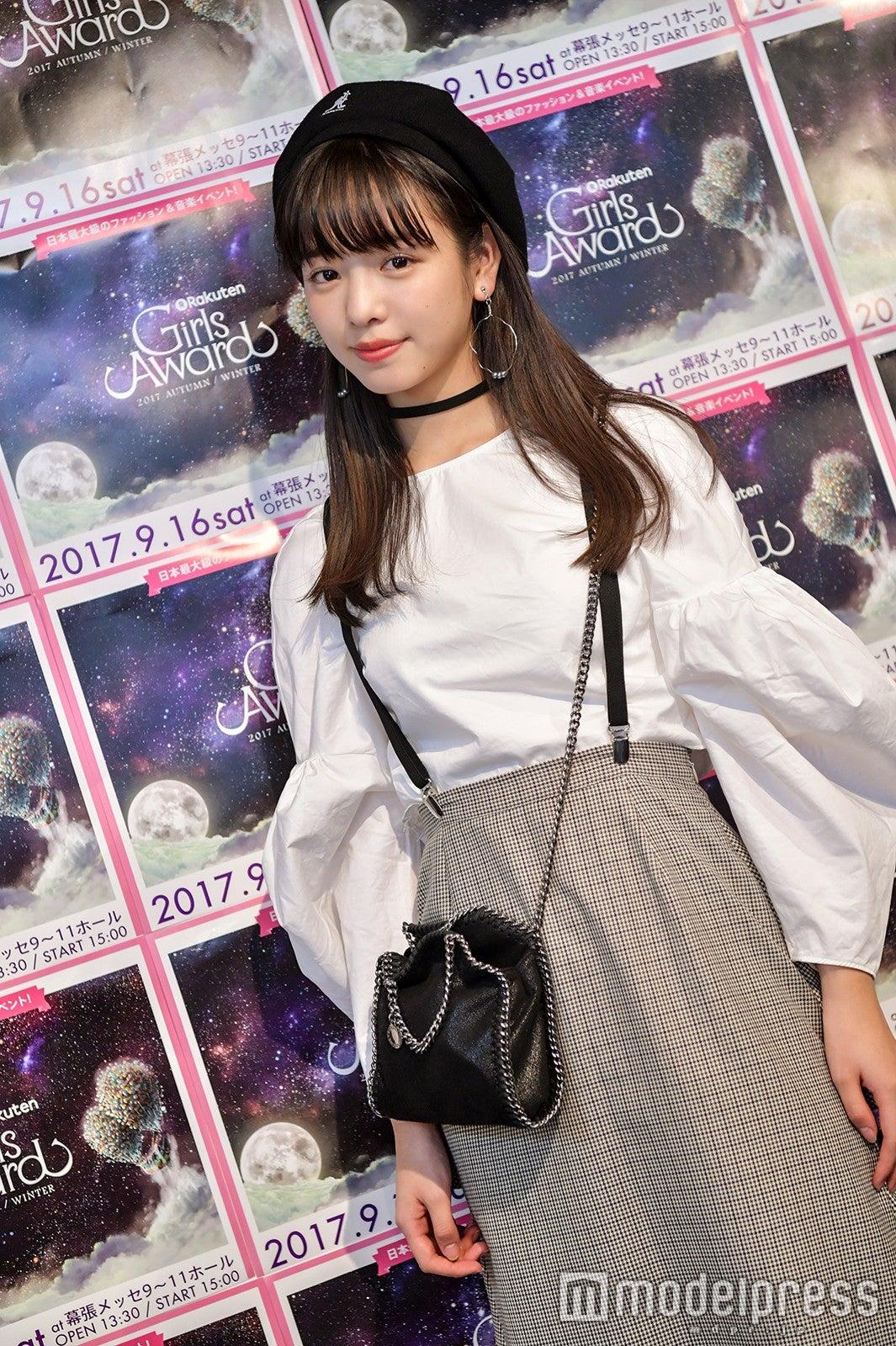 「Seventeen」横田真悠のガチ私服を真似したい!<GirlsAward 2017 A/W フィッティングに潜入> , モデルプレス