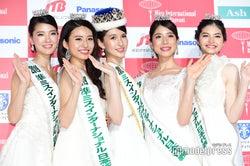 (左から)藤本美咲さん、文元麻由奈さん、岡田朋峰さん、寺西麻帆さん、田中蓉さん (C)モデルプレス