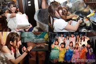 メンバーのお土産に悲鳴「震えが止まらない!」 Re:ガールズ、初主催ライブで料理を振る舞う!