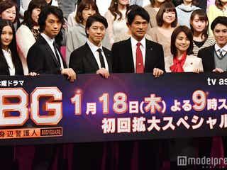 木村拓哉主演「BG~身辺警護人~」第6話視聴率を発表 山口智子と22年ぶり共演