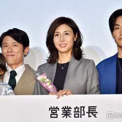 高橋幸之助、原田泰造、松嶋菜々子(C)モデルプレス