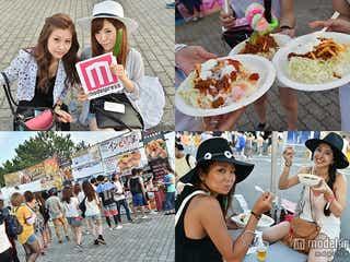 「サマソニ」グルメも豊富!世界各国の料理で夏フェス満喫<SUMMER SONIC 2015来場者スナップ>