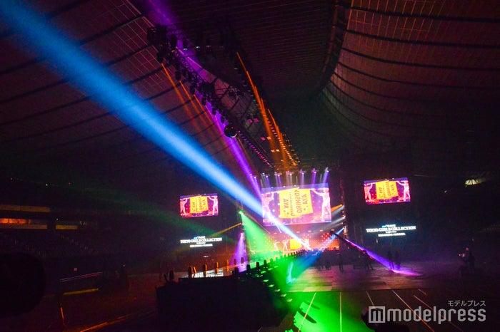 無観客開催となった「第30回 マイナビ 東京ガールズコレクション 2020 SPRING/SUMMER」内観(C)モデルプレス
