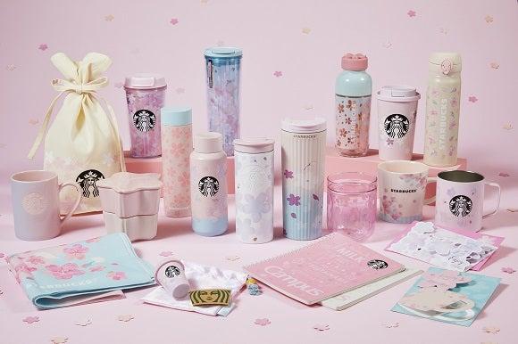 SAKURAシリーズグッズ/画像提供:スターバックス コーヒー ジャパン