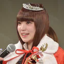 関東で一番かわいい女子高生に選ばれた瞬間のにーに(C)モデルプレス