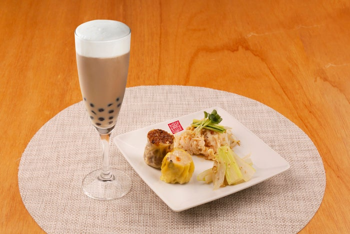ほろ酔い茶酒セット(※ディナーのみ)1,000円/画像提供:春水堂