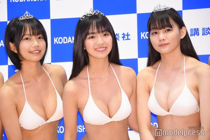 夏目綾、豊田ルナ、吉澤遥奈 (C)モデルプレス