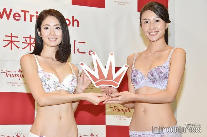 土屋ひかる、越川友貴(C)モデルプレス
