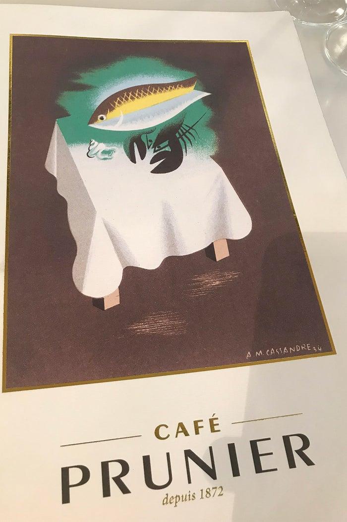 カフェ プルニエ/画像提供:CAVIAR HOUSE & PRUNIER JAPAN