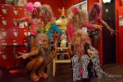 「ガングロカフェ」に参加するblack diamondメンバー