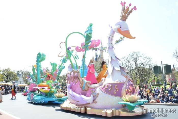 美しい白鳥のフロート/ハピネス・イズ・ヒア