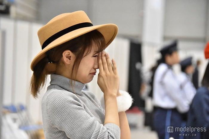 高橋みなみ、AKB48ラストシングルのセンター発表で涙 新ユニット発表も(C)AKS【モデルプレス】
