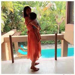 モデルプレス - 蛯原友里、息子を抱く姿を公開「美しすぎるママ」「幸せ溢れてる」