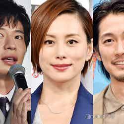 秋ドラマに主演する(左から)田中圭、米倉涼子、ディーン・フジオカ(C)モデルプレス