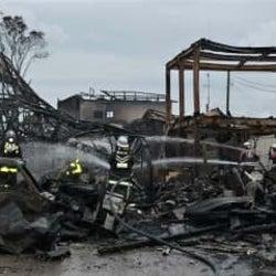 【速報】八街で建物火災 民家など10棟以上が延焼