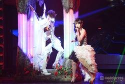 「第65回 NHK紅白歌合戦」のリハーサルを行ったT.M.Revolution×水樹奈々【モデルプレス】