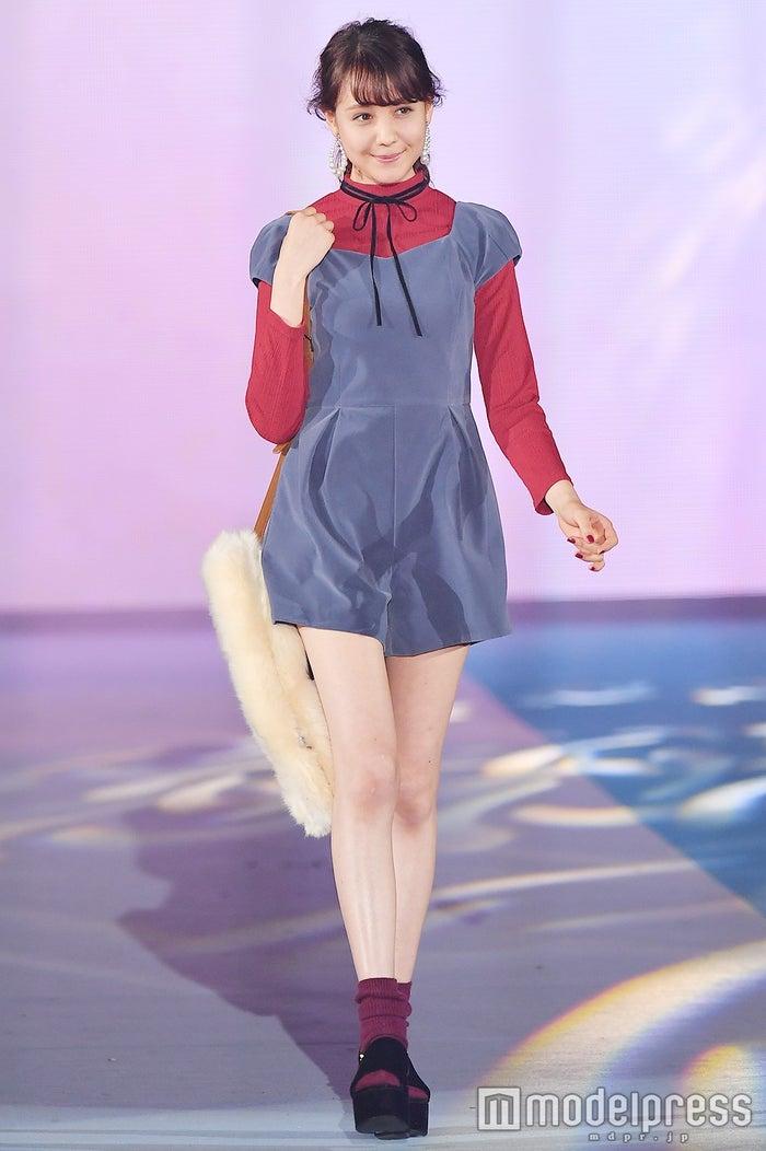 「GirlsAward 2016 AUTUMN/WINTER」に出演したトリンドル玲奈(C)モデルプレス