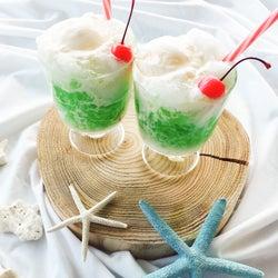 ひんやりスイーツ「しゅわしゅわクリームソーダーゼリー」で夏の暑さを吹き飛ばそう!【柏原歩のトレンドレシピ】